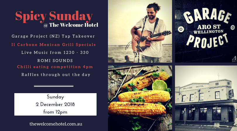 spicy sunday at the welcome hotel